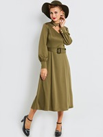 Sisjuly Vintage Woman Dresses Plus High Quality Women Sexy Strapless Long Dresses Solid Sashes Green Women
