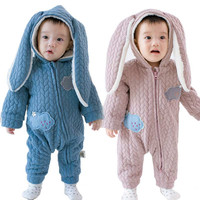 Winter Baby Boy Leotard Suit Girl Coverall Romper Costume Cotton Jumpsuit Set Long Sleeve Infant Clothes