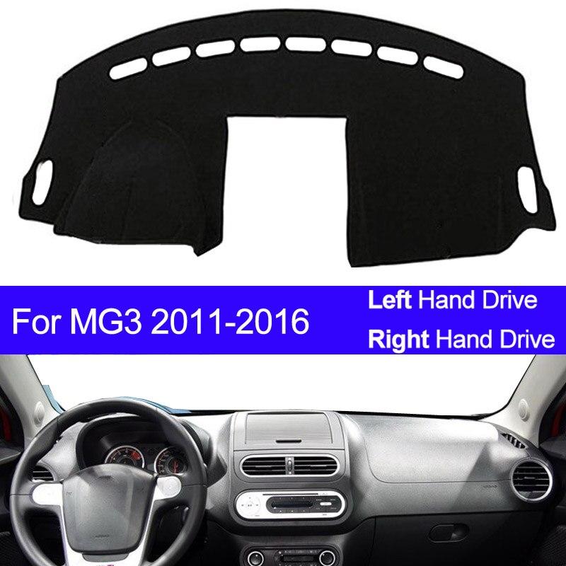Car Dashboard Cover Dash Mat For MG 3 MG3 2011 2012 2013 2014 2015 2016 Dashmat Pad Carpet Dash Board Sun Shade Car Styling