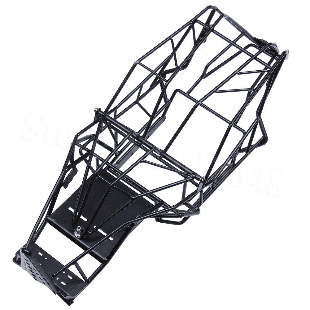 Châssis en acier rouleau Cage cadre corps pour 1/10 Axial Wraith 90018 RC camion sur chenilles