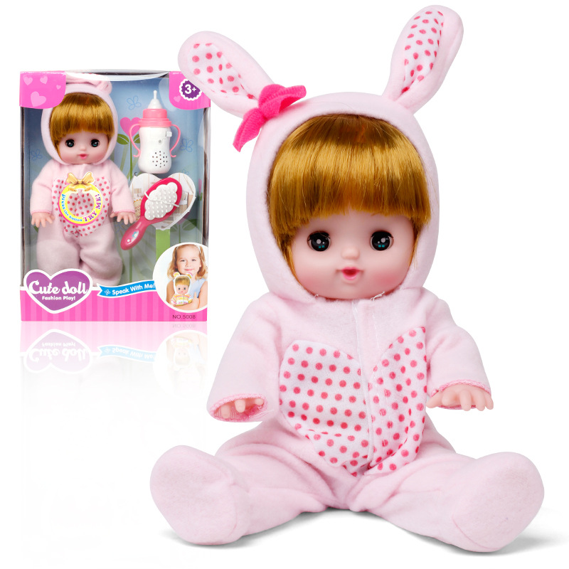 f70b0f63d Detail Feedback Questions about Baby Doll Toy Electric Silicone Real Girl  Toy Funny Sing Song Snoring Clicking Cry Sound Pretend Toys on  Aliexpress.com ...