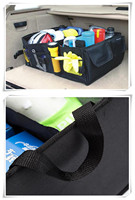 Black Car Trunk Organizer Storage Box for BMW F10 E46 F30 F07 E90 E91 X series 1 2 3 4 5 6 7 series E F series X1 X3 X4 X5 X6