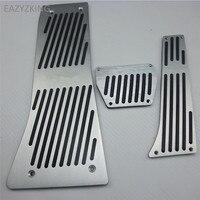 Car Styling Aluminium Alloy FootRest Gas Pedal Brake Pedal For BMW X5 X6 E70 E71 E72