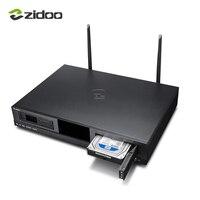 ZIDOO X20 Media Player 2 ГБ DDR4 16 ГБ eMMC Декодер каналов кабельного телевидения 4 К HDR Android ТВ box Dual HDMI Двойной жесткий диск Dual Band Wifi Smart ТВ коробка