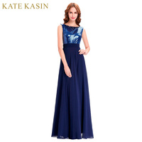 Kate kasin navy blue evening dresses long with sequins see through lace formal gown floor length.jpg 200x200