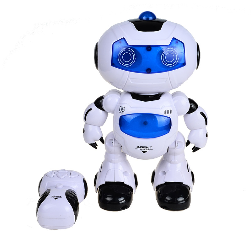 RC Robots Walking and English Speaking Toy