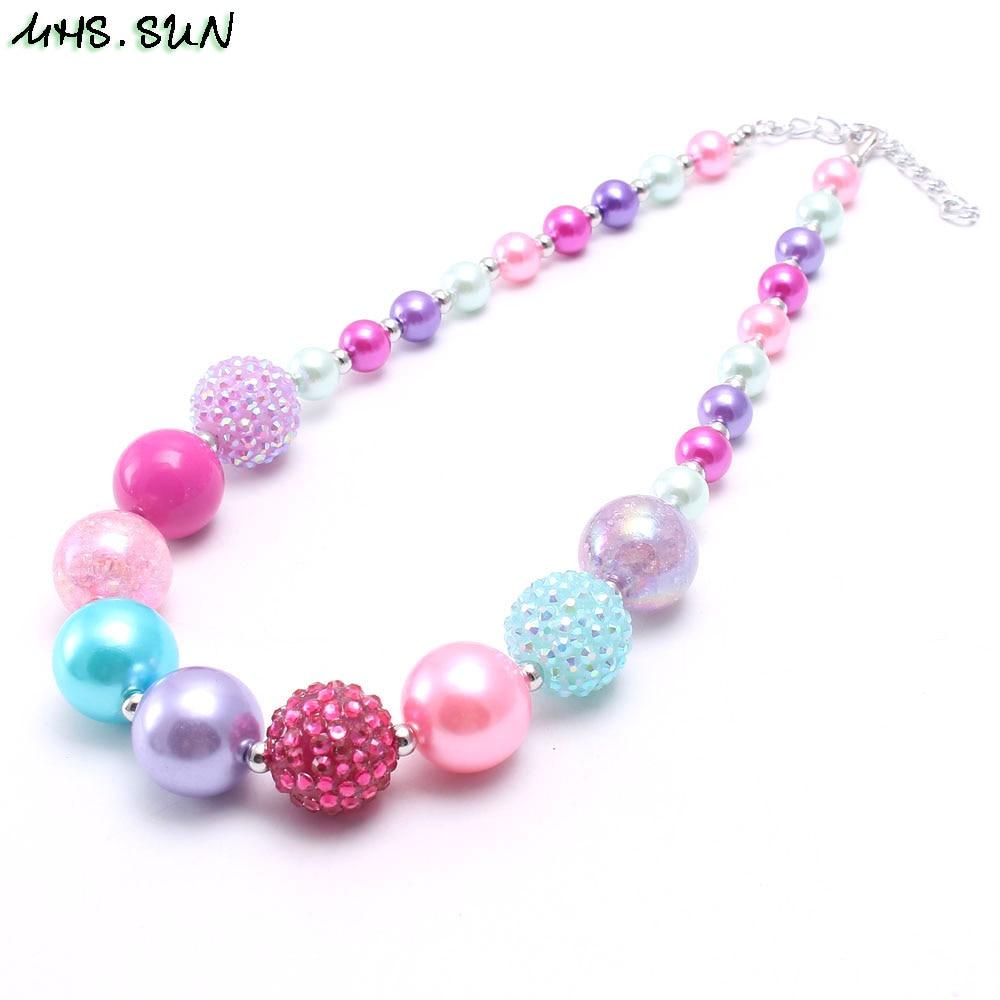 Kettingen, Hangers Handmade Pink Beaded Necklace Modesieraden New