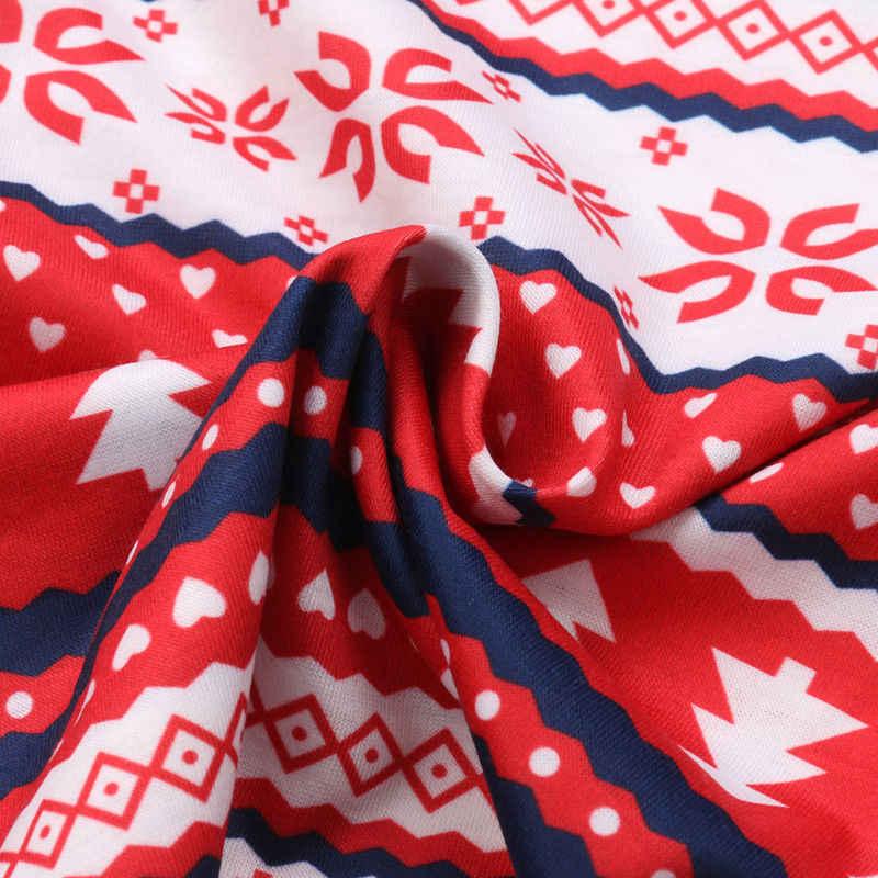 Família Xmas Crianças Adulto Correspondência Conjunto Roupa Roupa de Dormir Pijamas Pjs Natal Conjuntos de Pijama Família Roupas Combinando