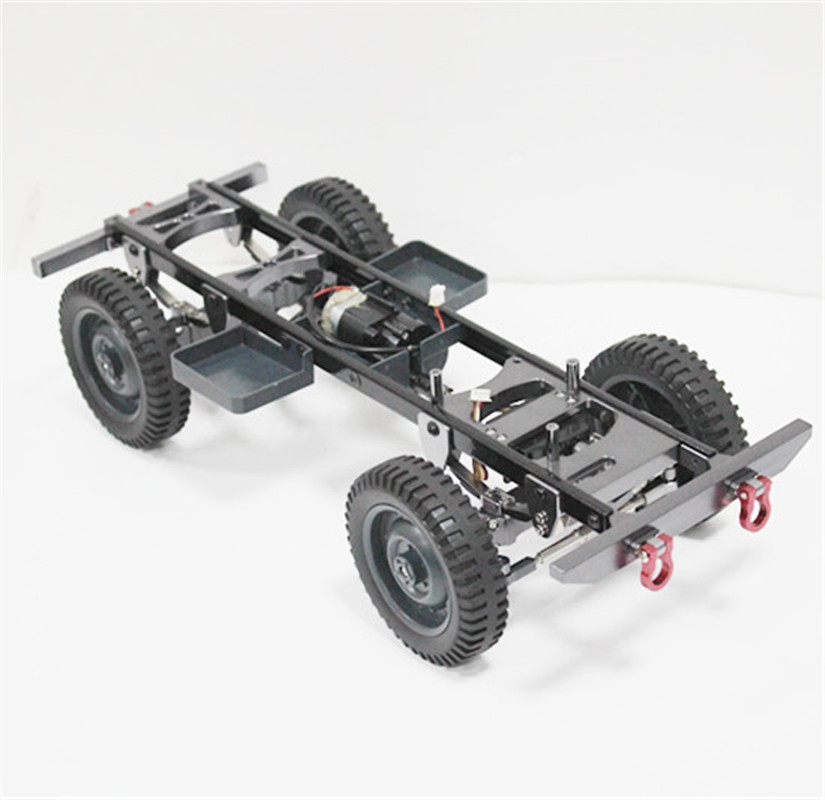 Metal Chassis Rear Bumper Accessories Parts For WPL RC Car JJRC Q60 Q61