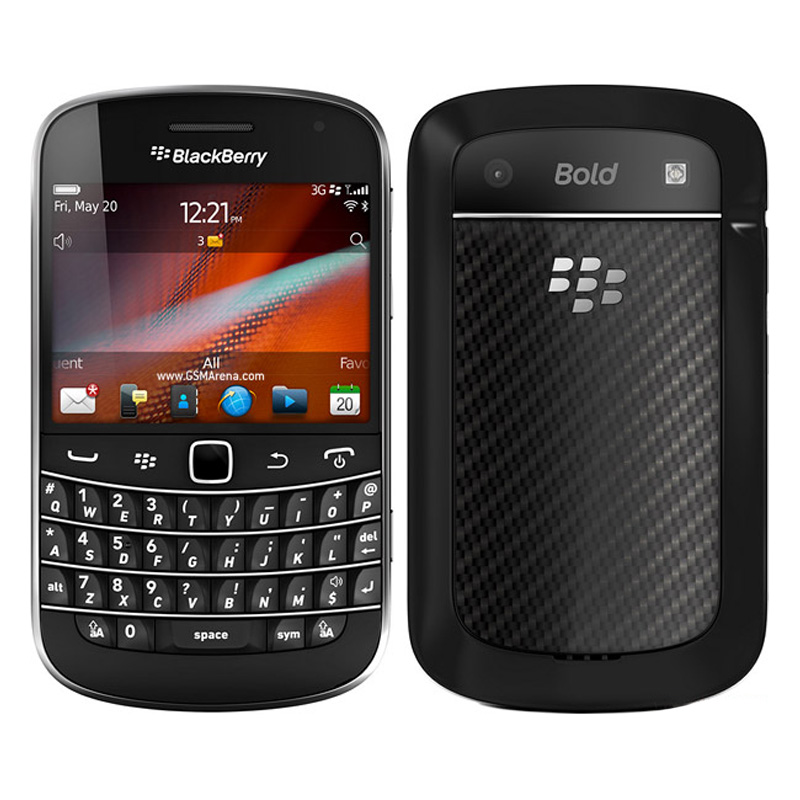 Original BlackBerry Bold Touch 9900 3G Unlocked Mobile Phone 5MP WIFI Bluetooth Refurbished BlackBerry 9900 Smartphone