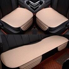 Capa de assento do carro almofada estilo do assento de automóvel frente traseira coxim frente para trás assento de automóvel preto coxim