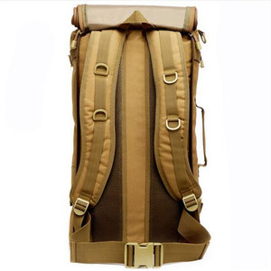Image 3 - Uomini e donne zaino da viaggio zaino da viaggio grande capacità zaino 60 l borsa appassionati di militari antiusura nylon impermeabile