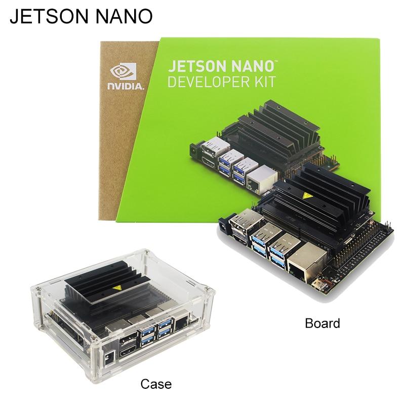 New NVIDIA Jetson Nano Developer Kit Quad-core ARM Cortex-A57 1.43Ghz CPU LPDDR4 Small AI Computer  Transparent Acrylic CaseNew NVIDIA Jetson Nano Developer Kit Quad-core ARM Cortex-A57 1.43Ghz CPU LPDDR4 Small AI Computer  Transparent Acrylic Case