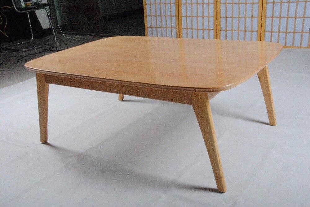 Stks set moderne houten tafel kotatsu set tafel futon