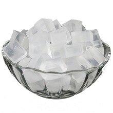 1000 грамм/упаковка прозрачная и белая мыльная основа Сделай Сам мыло ручной работы сырье s глицериновое мыло изготовление