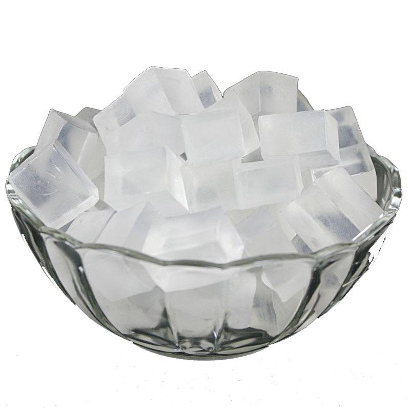 1000gram/Pack Transparent&White Soap Base DIY Hand Making Soap Raw Material Handmade Soap Raw Materials Glycerin Soap Making