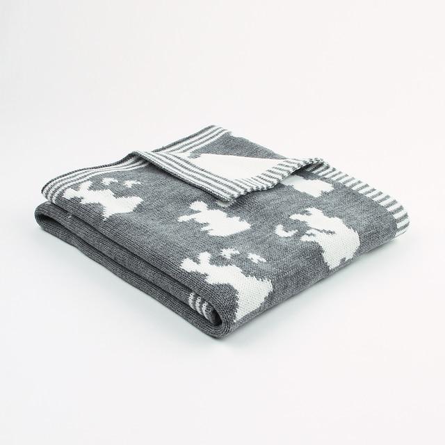 Aliexpress.com: Comprar Bebé recién nacido Swaddle Wrap manta Animal ...