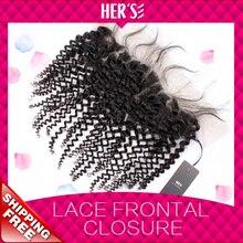 Brazilian Curly Virgin Hair Lace Frontal Closure,Cheap Human Hair Closure,Lace Frontals With Baby Hair,Brazilian Virgin Hair