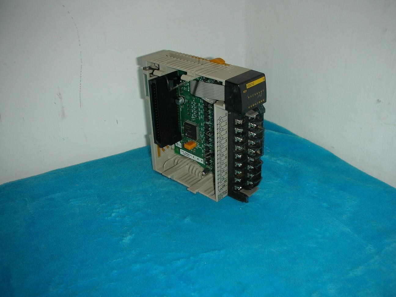 1PC USED Original OMRON CQM1-OD212 PLC dhl ems 1pc original for omron cj2h cpu64 eip
