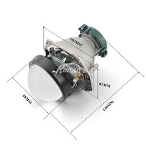 Image 2 - Ronan ampoules au xénon 3.0 pouces, bi bleu, pour HL 5R football, verre, verres, projecteur, utilisation D2S D2H D1S D3S D4S
