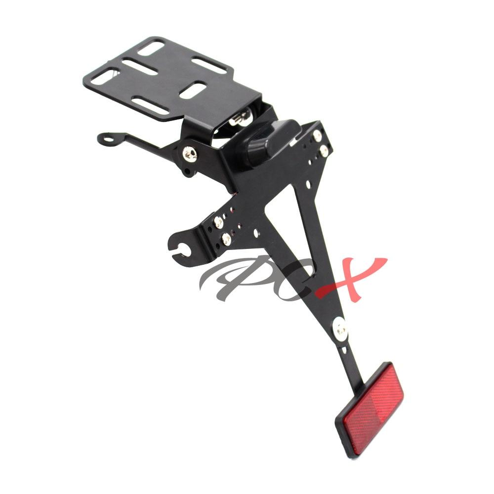 Motorrad Kennzeichenhalter Tail Bracket LED für KTM Duke 125 200 390 690