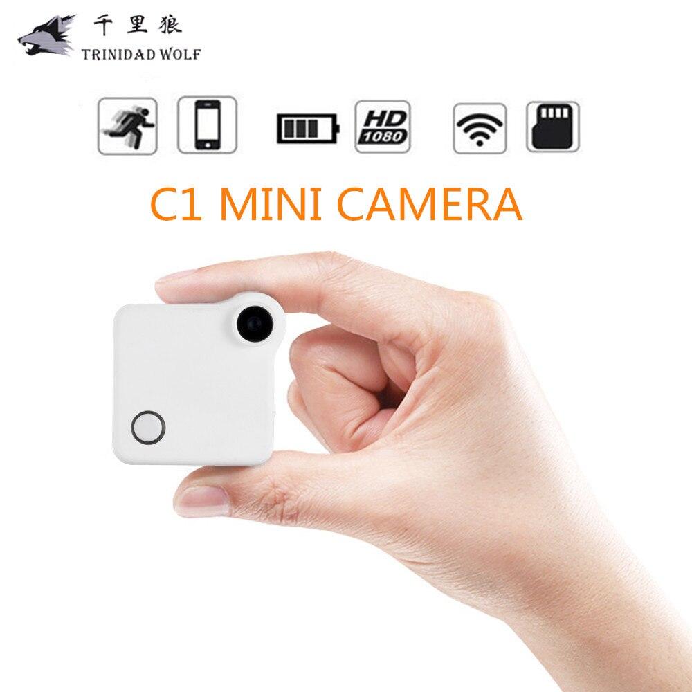 TRINIDAD WOLF WIFI IP Cam Mini Camera DVR HD 720P Action Camera C1 Camera Motion Sensor Loop Recording MP4 H.264 Micro Camera экшн камера mcm action cam hd