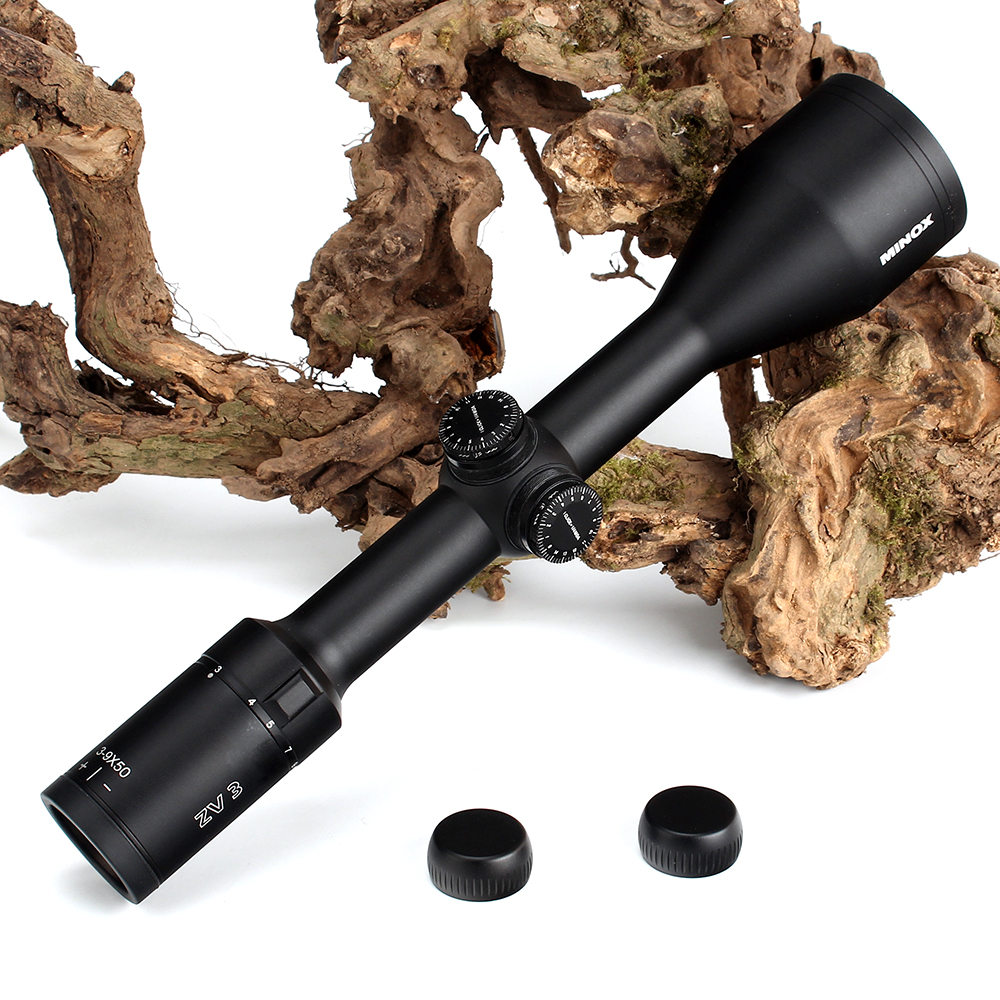 MINOX ZV 3 3-9X50 BDC 400 Reticle Hunting Rifle Scope 1 Inch Tube Long Eye Relief Tactical Optical Sight RifleScopes (8)