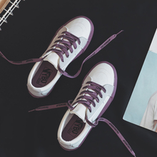 Small white shoes female 2019 spring canvas shoes new ins st