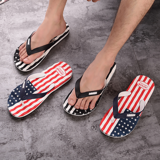 Patriotic Summer Slippers  4