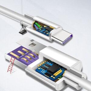 Image 4 - 5A USB Typ C Kabel Für Huawei P20 Lite Honor 10 9 Pro Schnelle Lade Daten Kabel Telefon Ladegerät Samsung s9 Redmi Hinweis 7