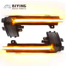 цены LED Flowing Rear View Dynamic Sequential Mirror Turn Signal Light For Audi A6 C7