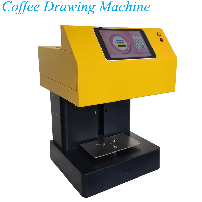 Net Red Milk Tea Device Coffee Flower Machine 3D Intelligent Automatic Milk Cap Milk Foam Printer H1811133Net Red Milk Tea Device Coffee Flower Machine 3D Intelligent Automatic Milk Cap Milk Foam Printer H1811133