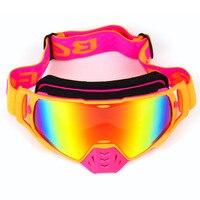 Motocross Óculos de proteção do Capacete para ATV MTB DH Da Bicicleta Da Sujeira Da Motocicleta Da Bicicleta Da Sujeira Moto Óculos Óculos Óculos Esporte Esqui Masque