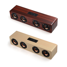 Picket Wi-fi Bluetooth Speaker Moveable HiFi Shock Bass 3D Stereo TF card Residence Theater Get together Speaker Sound System for iPhone