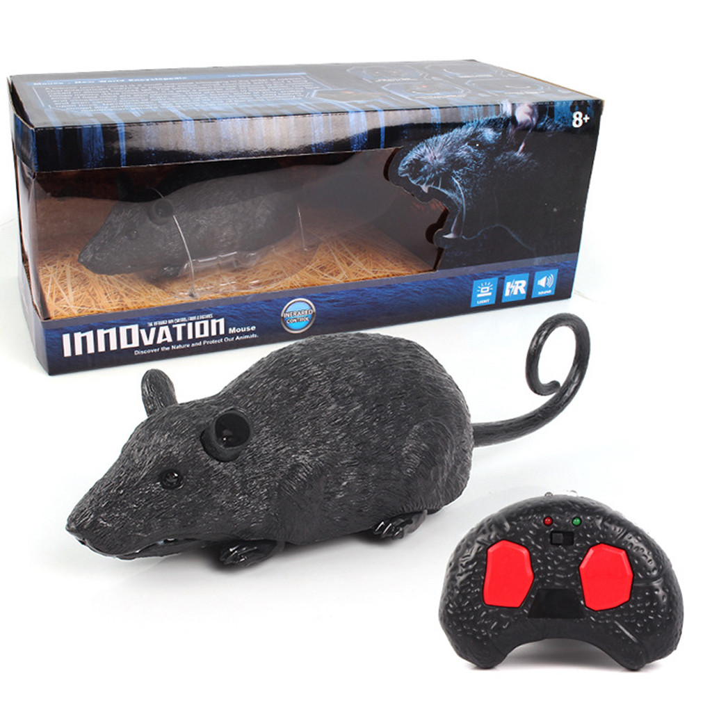 Image 3 - Children Tricky Toys Infrared Induction Electric Remote Control Mouse Pet Toy practical and convenient Remote control toys-in RC Robots & Animals from Toys & Hobbies