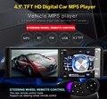 Eletrônica Do Carro 4012B 4.1 polegada MP5 Player Multimídia Rádio Rádio Do Carro de Áudio e Vídeo com Câmera de Visão Traseira