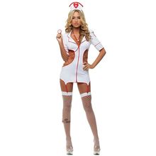 Stethoscope Nurse Play Role Sex Games Nurse Hot Dress Costume Lingerie Sets Slutty Nurse Costume Bra Nasty Nurse Erotic Uniform униформа для медперсонала smart nurse