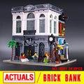 Creador LEPIN 15001 Calle de La Ciudad de Ladrillo Banco Modelo de Juguete Montaje de Bloques de Construcción Ladrillos Compatible Con 10251