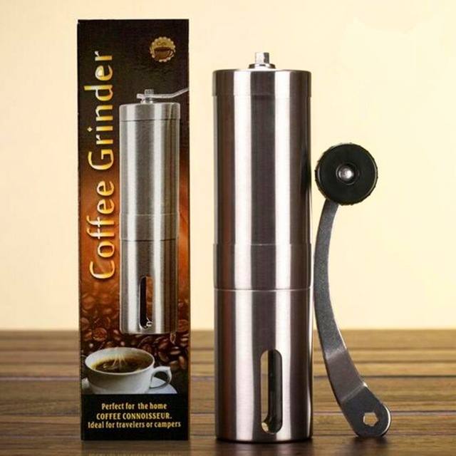 Coffee Grinder Manual  Mill  Coffee Bean Grinders  Stainless Steel  Hand Coffee Grinder manual coffee grinder conical burr mill stainless steel portable hand burr grinders