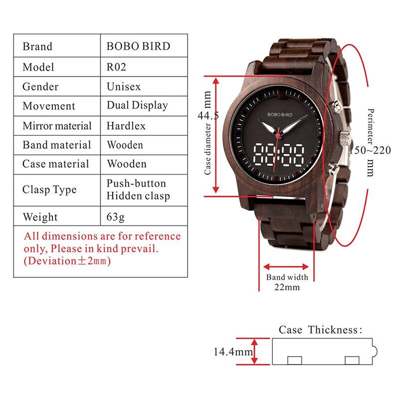 luxo duplo display luminoso mãos quartzo relógio pulso relogio masculino K-R02