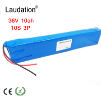36V 10ah Electric battery for bicycle 18650 lithium ion battery 10S3P 500W High power and capacity 42 per motorcycle Scooter wit