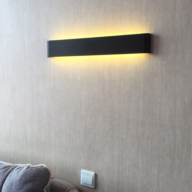 modern led contracted sitting room adornment bedroom berth lamp personality corridor lights Nordic stairs back wall lamp цена