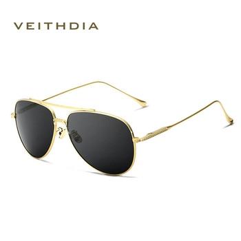 2018 New  VEITHDIA Vintage Pilot Brand Designer Sunglasses Men/Women Male Sun Glasses gafas oculos de sol masculino VT3616