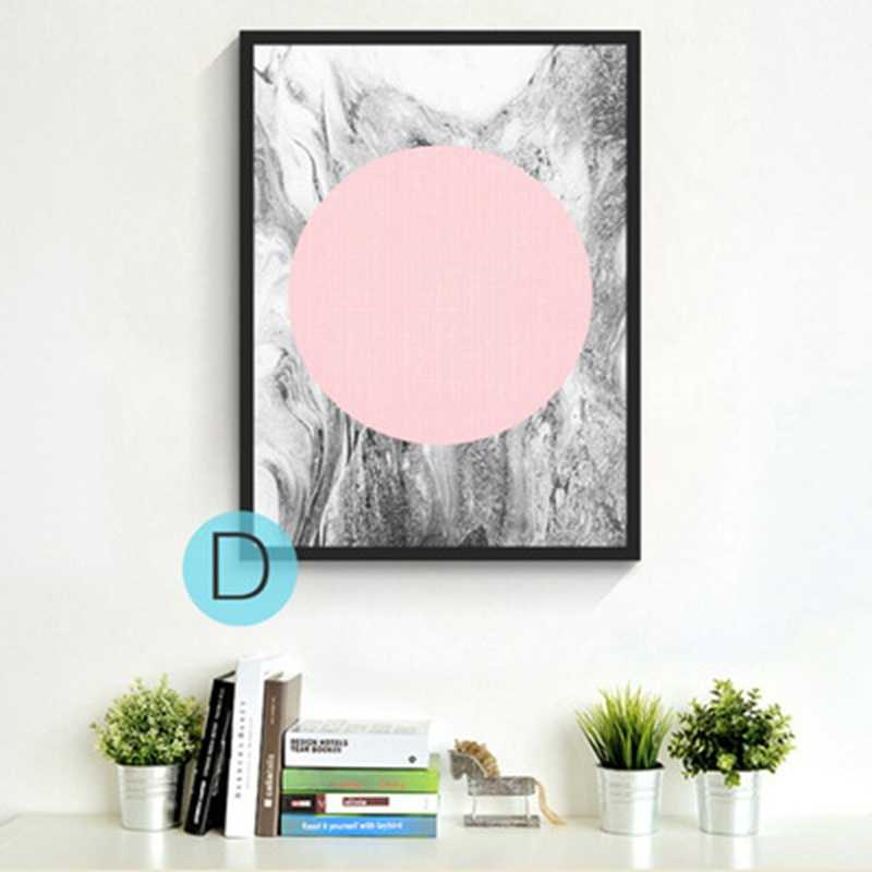 GY66 Abstract Geometric Graphic Painting Drawing Core Wall Picture Canvas Print Watercolor Poster Living Room Decorate