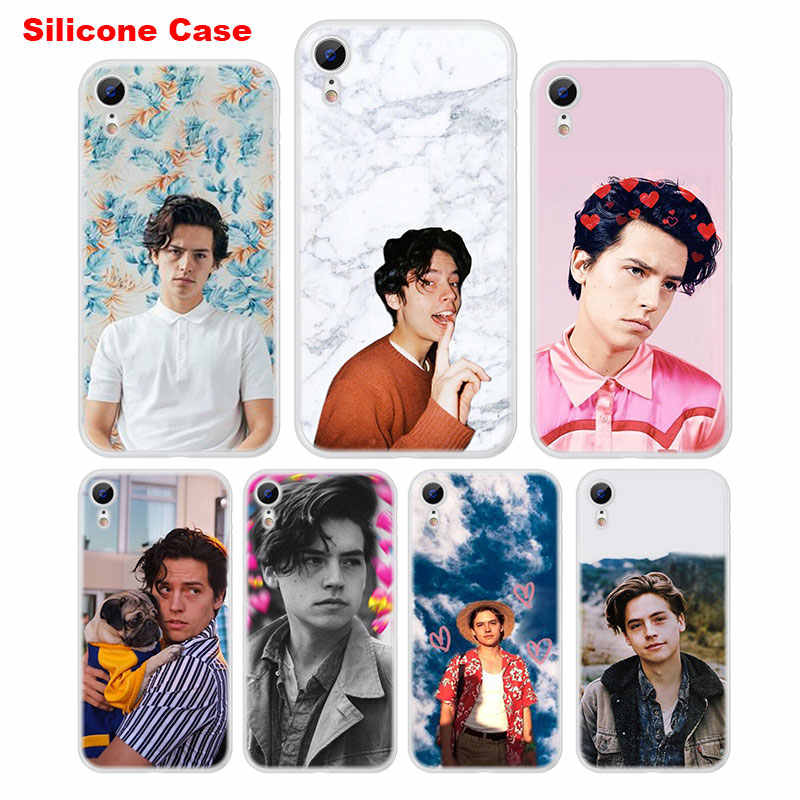 Matte Silicone Case Cole Sprouse Moley Style for iPhone XS XR Max X 8 7 6 6S Plus 5 5S SE Phone Case Cover