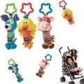 2016 Baby Soft Animal Handbells Rattles Bed Stroller Bells Developmental Toy luhao US Kawaii Kids Toys For Children Dolls