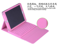 New Fold Waterproof Soft Siliocn Wireless Bluetooth Keyboard Stand PU Leather Cover Case For Apple IPad