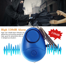 Personal Alarm Protection Women Elderly Defensa Personal Safe Sound Emergency Self-Defense Security Alarm Keychain