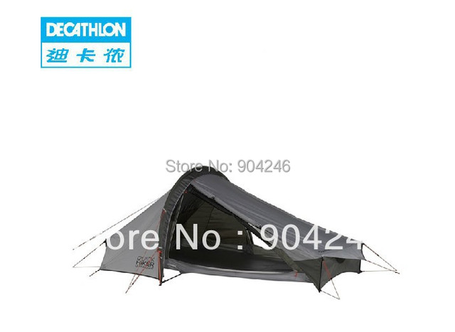 reputable site e5915 3e340 US $316.5  Freeshipping DECATHLON Ultralight hiking camping outdoor tent 2  bunk QUECHUA QuickHiker in Freeshipping DECATHLON Ultralight hiking camping  ...