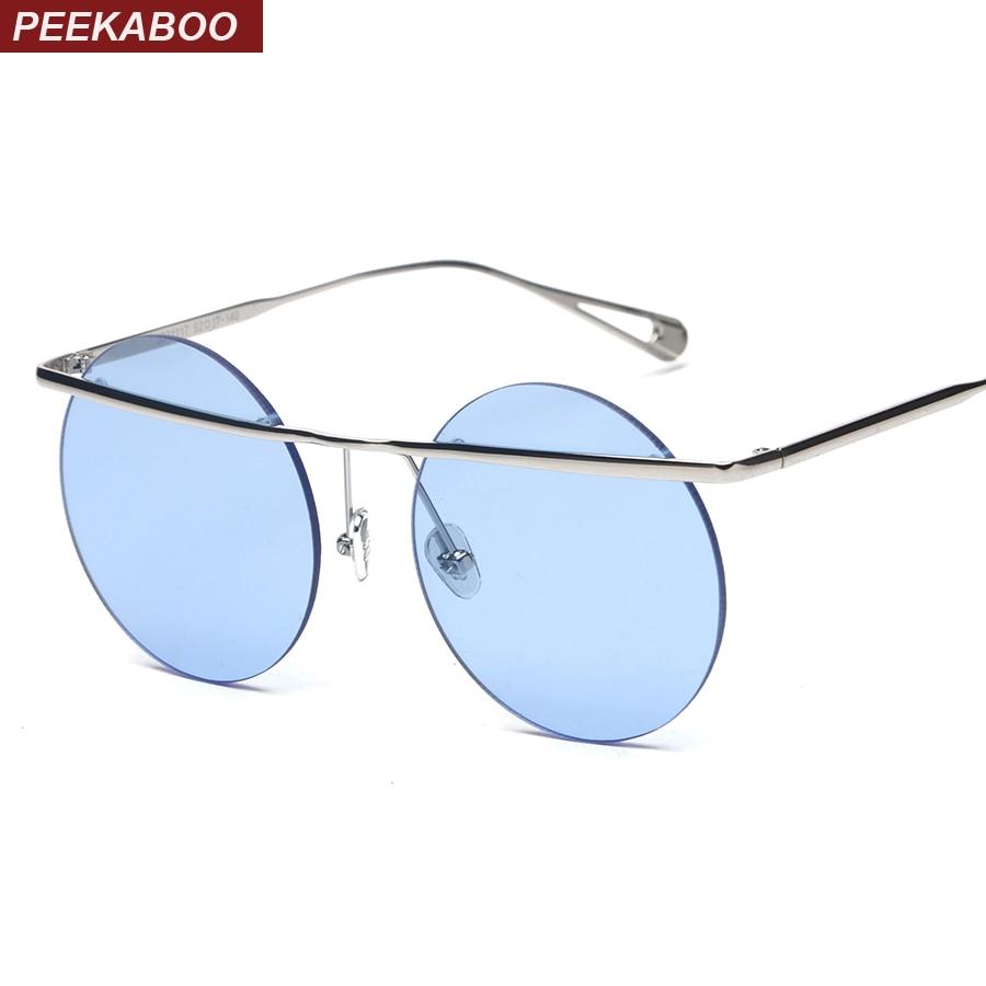 Promoción de Sin Montura Transparente Vendimia Gafas De Sol - Compra ...